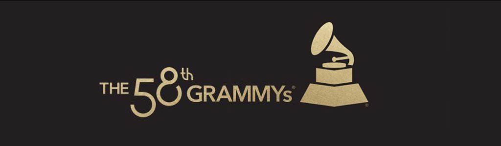 58th Grammys Logo